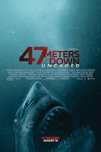 دانلود زیرنویس فیلم 47 Meters Down: Uncaged 2019
