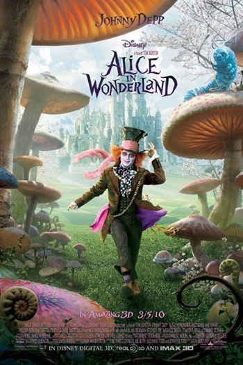 دانلود زیرنویس فیلم Alice in Wonderland 2010