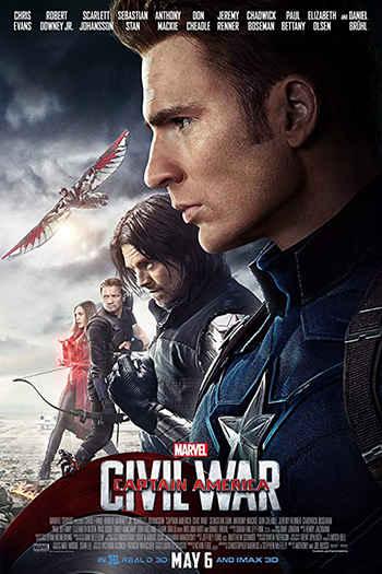 دانلود زیرنویس فیلم Captain America: Civil War 2016