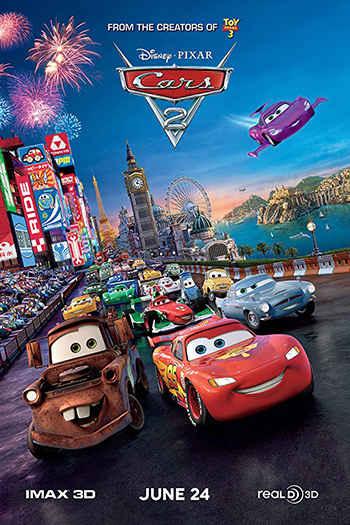 دانلود زیرنویس انیمیشن Cars 2 2011