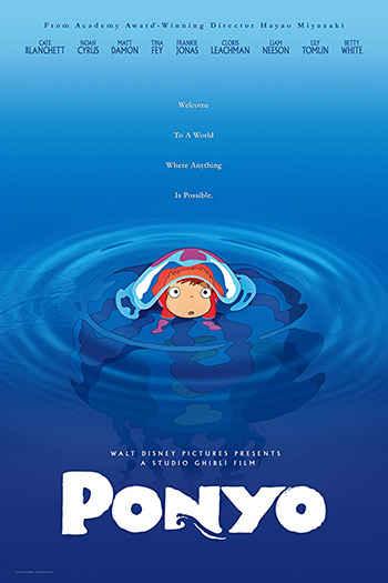 دانلود زیرنویس انیمیشن Ponyo 2008