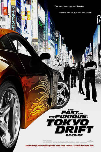 دانلود زیرنویس فیلم The Fast and the Furious: Tokyo Drift 2006