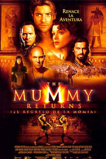 دانلود زیرنویس فیلم The Mummy Returns 2001