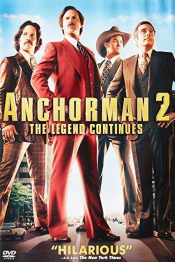 دانلود زیرنویس فیلم Anchorman 2: The Legend Continues 2013