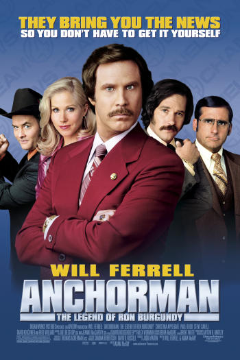 دانلود زیرنویس فیلم Anchorman: The Legend of Ron Burgundy 2004