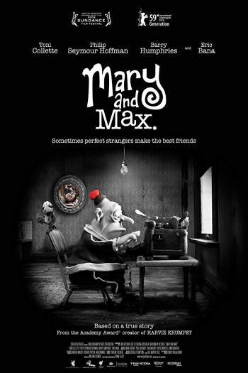 دانلود زیرنویس انیمیشن Mary And Max 2009