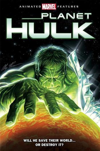 دانلود زیرنویس انیمیشن Planet Hulk 2010