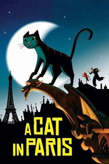 دانلود زیرنویس انیمیشن A Cat in Paris 2010