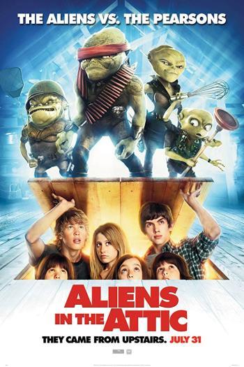 دانلود زیرنویس فیلم Aliens in The Attic 2009