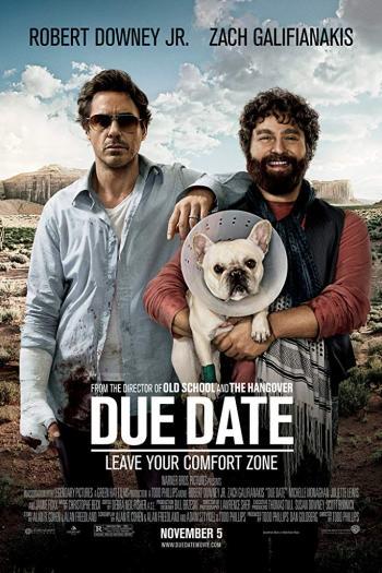 دانلود زیرنویس فیلم Due Date 2010