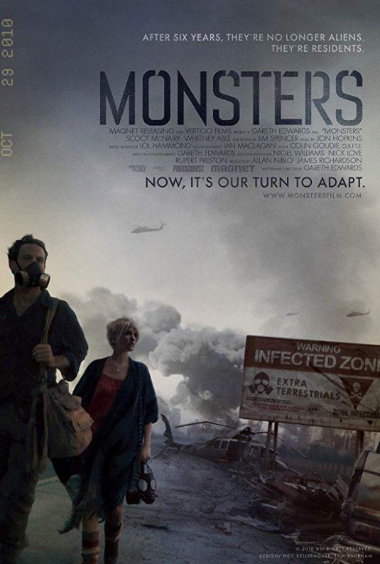 دانلود زیرنویس فیلم Monsters 2010
