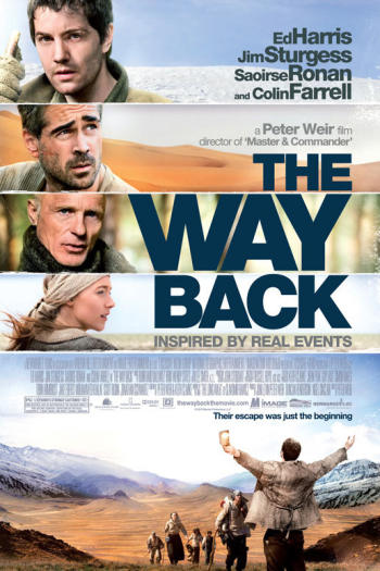 دانلود زیرنویس فیلم The Way Back 2010