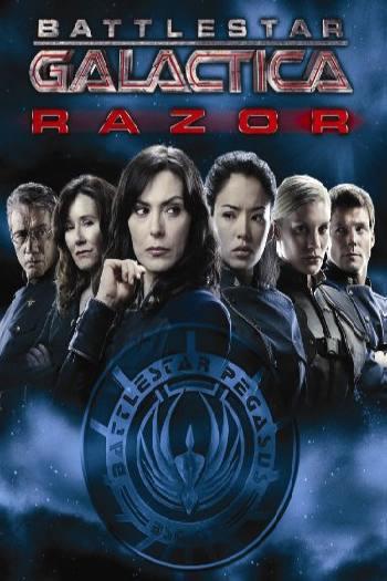 دانلود زیرنویس فیلم Battlestar Galactica Razor 2007