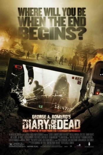 دانلود زیرنویس فیلم Diary Of The Dead 2007