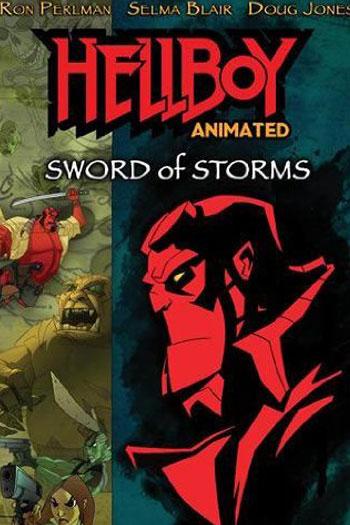 دانلود زیرنویس انیمیشن Hellboy Animated: Sword Of Storms 2006