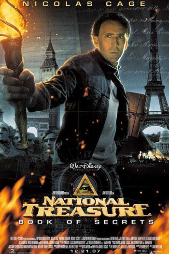 دانلود زیرنویس فیلم National Treasure: Book of Secrets 2007