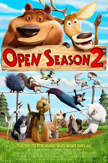 دانلود زیرنویس انیمیشن Open Season 2 2008