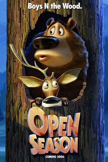دانلود زیرنویس انیمیشن Open Season 2006