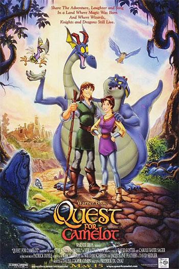 دانلود زیرنویس انیمیشن Quest For Camelot 1998