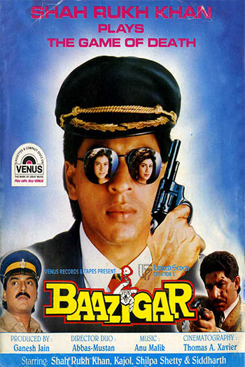 دانلود زیرنویس فیلم Baazigar 1993
