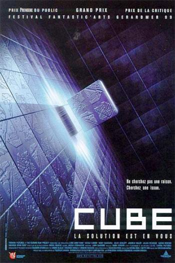 دانلود زیرنویس فیلم Cube 1997