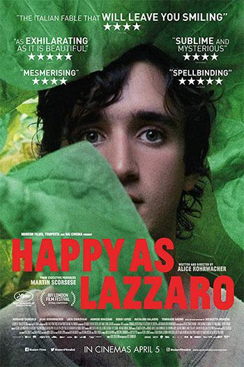 دانلود زیرنویس فیلم Happy as Lazzaro 2018