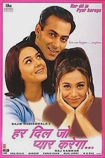 دانلود زیرنویس فیلم Har Dil Jo Pyar Karega 2000