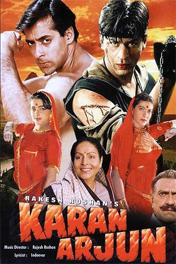 دانلود زیرنویس فیلم Karan Arjun 1995