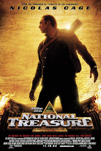 دانلود زیرنویس فیلم National Treasure 2004