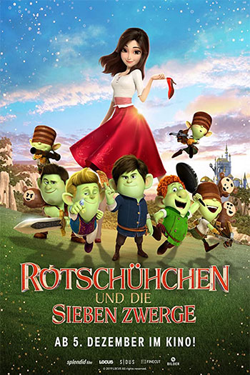 دانلود زیرنویس انیمیشن Red Shoes and the Seven Dwarfs 2019
