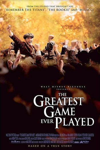 دانلود زیرنویس فیلم The Greatest Game Ever Played 2005