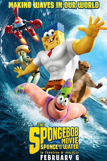 دانلود زیرنویس انیمیشن The SpongeBob Movie: Sponge Out of Water 2015