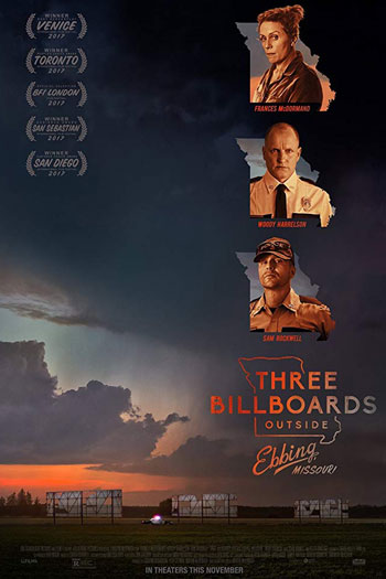 دانلود زیرنویس فیلم Three Billboards Outside Ebbing, Missouri 2017