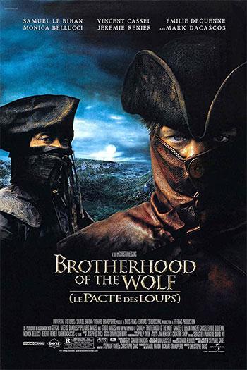 دانلود زیرنویس فیلم Brotherhood Of The Wolf 2001