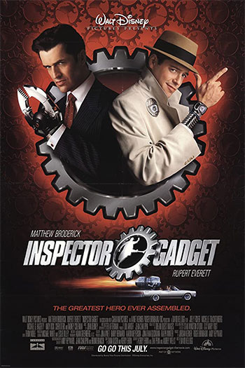 دانلود زیرنویس فیلم Inspector Gadget 1999