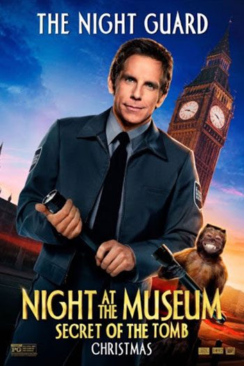 دانلود زیرنویس فیلم Night at the Museum: Secret of the Tomb 2014