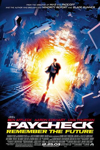 دانلود زیرنویس فیلم Paycheck 2003