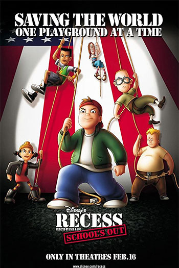 دانلود زیرنویس انیمیشن Recess: School's Out 2001