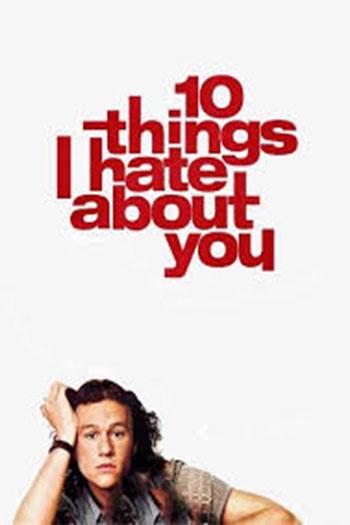 دانلود زیرنویس فیلم Ten Things I Hate About You 1999