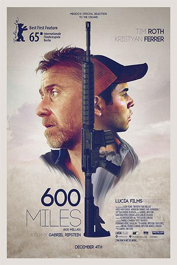 دانلود زیرنویس فیلم 600Miles 2015