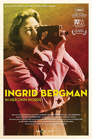 Ingrid Bergman in Her Own Words 2015