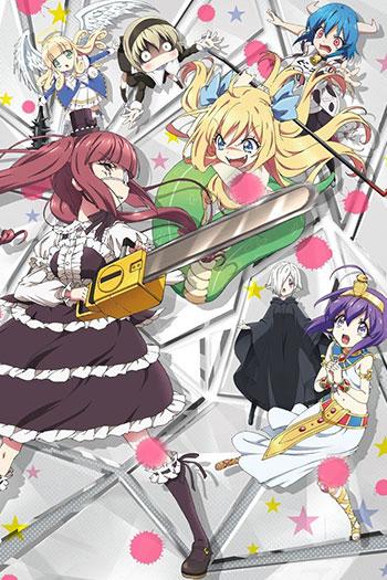 دانلود زیرنویس انیمه سریالی Jashin-chan Dropkick