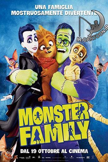 دانلود زیرنویس انیمیشن Monster Family 2017