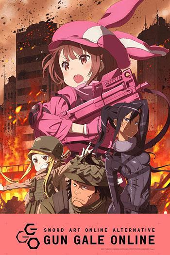 دانلود زیرنویس انیمه سریالی Sword Art Online: Alternative Gun Gale Online