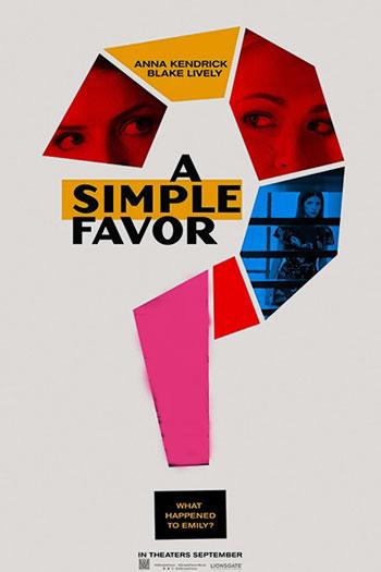 دانلود زیرنویس فیلم A Simple Favor 2018