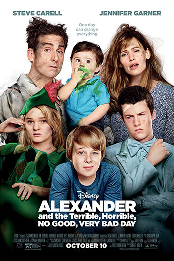 دانلود زیرنویس فیلم Alexander and the Terrible Horrible No Good Very Bad Day 2014