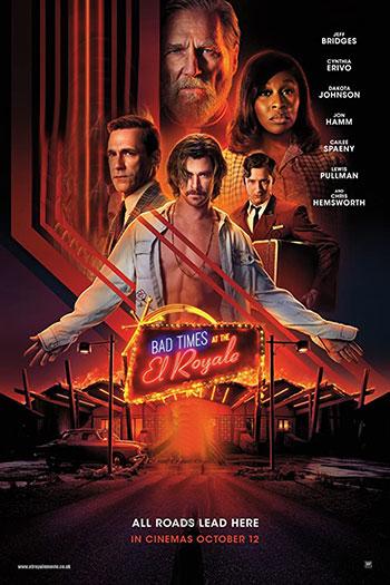 دانلود زیرنویس فیلم Bad Times at the El Royale 2018
