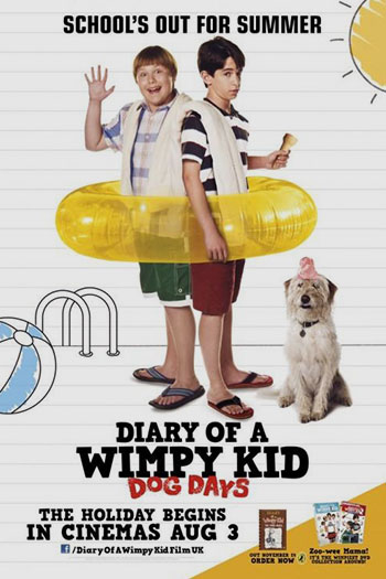 دانلود زیرنویس فیلم Diary of a Wimpy Kid Dog Days 2012