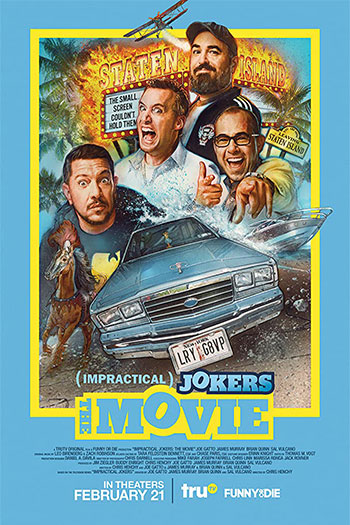 Impractical Jokers The Movie 2020