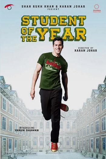 دانلود زیرنویس فیلم Student of the Year 2012